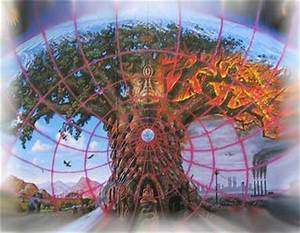 """Gaia"" Painting by Alex Grey 