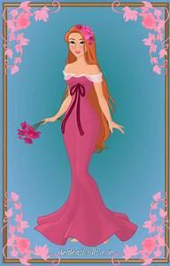 Giselle { Pink Dress } by kawaiibrit on DeviantArt