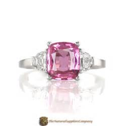 pink sapphire engagement ring engagement ring trends for 2009 the sapphire company