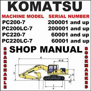 Komatsu Pc200