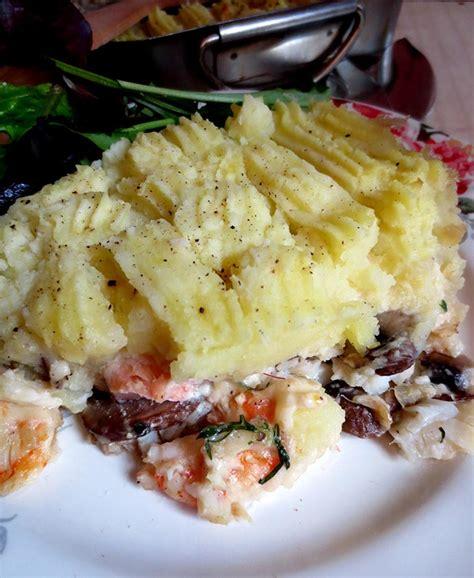pat鑽e cuisine st 39 s fish pie parmentier de poisson irlandais de la je cuisine donc je suis