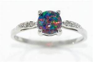 15 best collection of australia opal engagement rings for Australian wedding rings