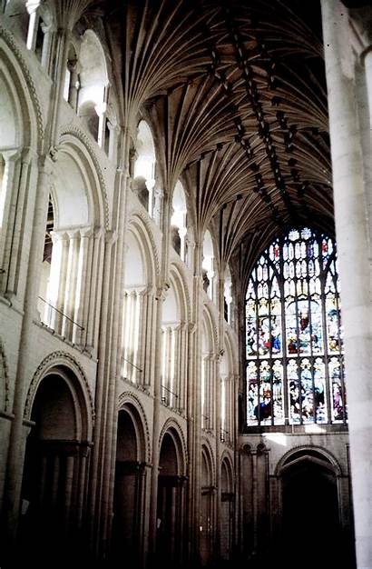 Norwich Cathedral Interior England Medieval Archive Pitt