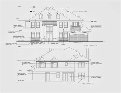 Architectural Elevation Detailing Services