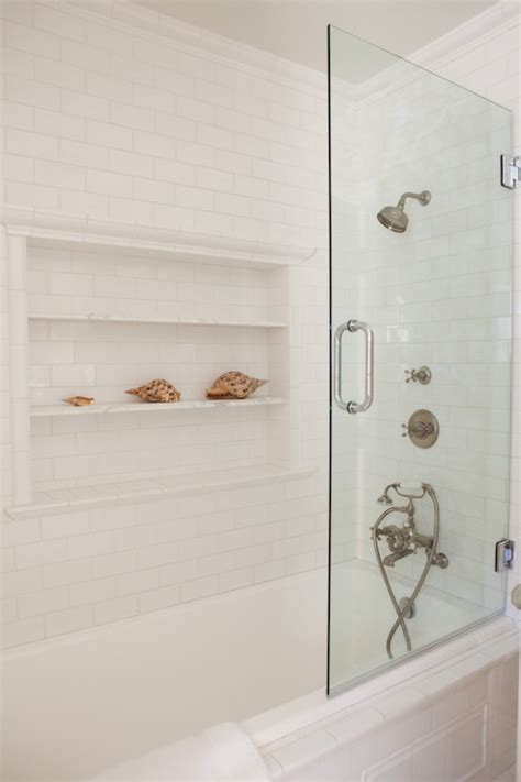 bathroom niche ideas shower niche ideas cottage bathroom kathleen dipaolo designs