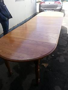 Table Ronde Avec Rallonge : table ronde avec rallonge ~ Teatrodelosmanantiales.com Idées de Décoration