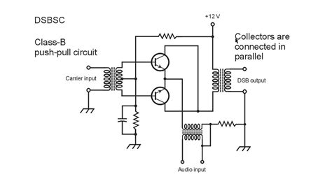 balanced modulator circuit youtube