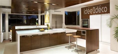 plafond de cuisine design davaus decoration platre pour cuisine avec des