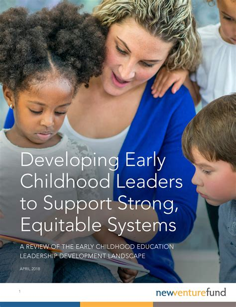 developing early childhood leaders  support strong