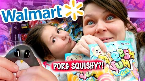 4 Different Squishy Brands At Walmart!!  Squishy Vlog