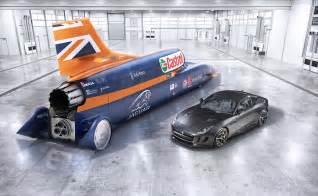 Bloodhound Land Speed Record Car