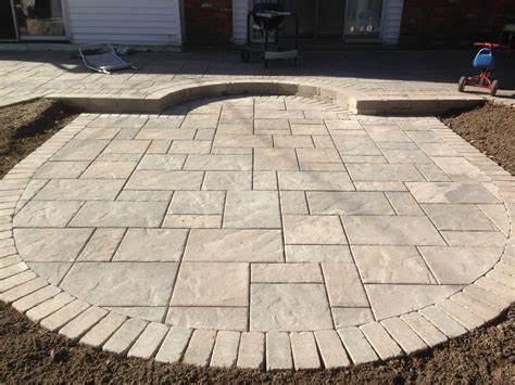 Unilock Beacon Hill Pavers by Unilock Large Size Paver Beacon Hill Outdoor Patios