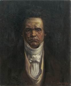 Filefrancis Pelichek Retrato De Beethoven 1920