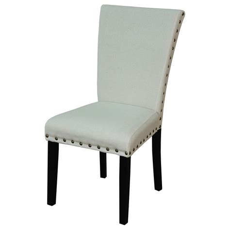 upholstered dining chairs walmart dhi wingback upholstered dining chair