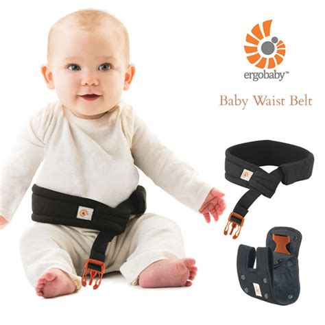 i baby ergobaby baby waist belt black ckegwbpblk