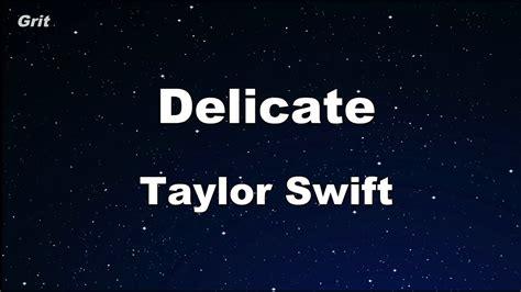 Taylor Swift Karaoke 【no Guide Melody