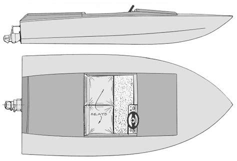 Mini Boat Drawing by Mini Jet Boat Plans A