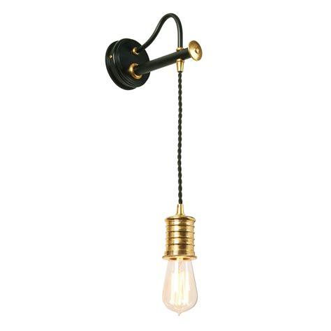 elstead lighting douille single light wall fitting in