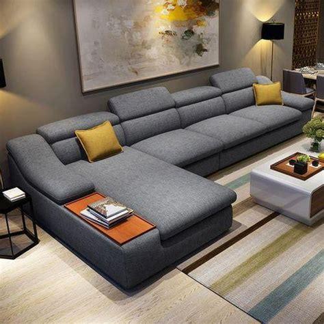 Drawing Room Sofa Set by Wood L Shape Drawing Room Sofa Set Rs 3500 Square