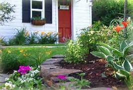 The Simple Front Yard Landscaping Ideas Front Yard Landscaping Ideas Best Small Front Yard Landscaping With Driveway New Home Designs Designs Landscaping Ideas For Front Yards Pictures Inspiring Nice Ideas Front Yard Simple Landscaping Ideas Front Yard Two Story House