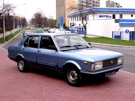 Fiat Argenta by Fiat Argenta 1981 On Motoimg