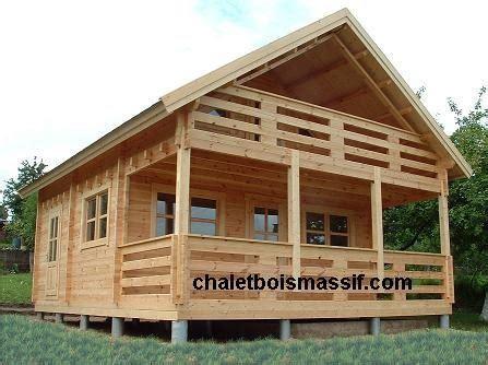 maison bois mont blanc72m 178 vente de chalet bois massif chalet en kit