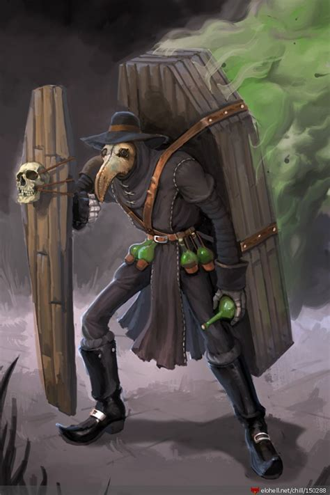 chillout plague singed skin idea