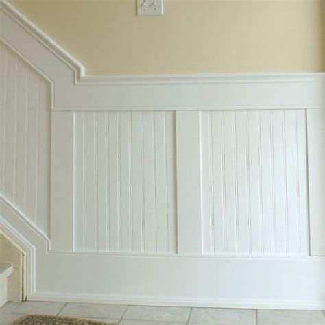 Beadboard Or Wainscoting by Beadboard Panel Wainscoting Kit For The Home