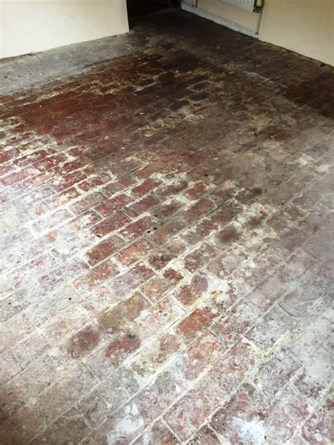 100 Year Old Brick Floor Renovated in Oxford   Tile