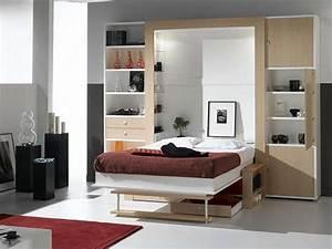 Lit Dans Armoire : lit armoire canap squadra armoire lit diffusion ~ Premium-room.com Idées de Décoration