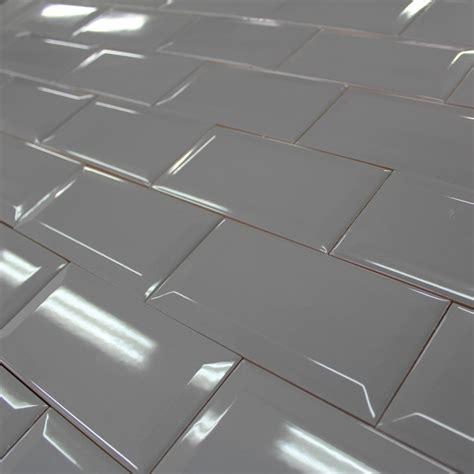 carrelage metro carrelage mural m 233 tro gris cemento brillant carrelage m 233 tro