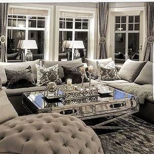Cool, 50, Modern, Glam, Style, Living, Room, Ideas, S