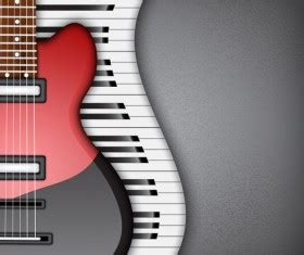 musical instruments vector for free