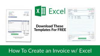 Create Excel Templates Create An Invoice To Print Images