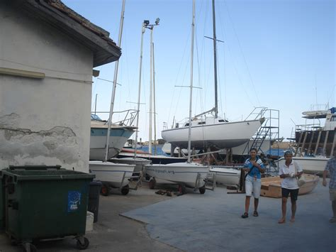 Sailing Boat Yard by Sailing Danese Boatyard Boat Yard Brindisi Anchorages