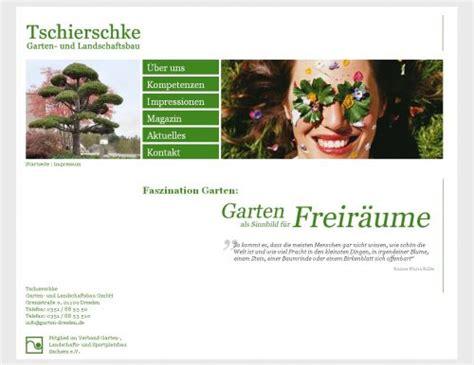 Garten Und Landschaftsbau Firmen Dresden by Neue Internetseite F 252 R Tschierschke Garten Und