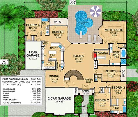 mansion plans mini mansion 36105tx architectural designs house plans