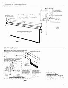 Da Lite Motorized Screen Wiring Diagram Gallery