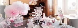 Décoration Table Bapteme Fille : deco bapteme pas cher fille ~ Farleysfitness.com Idées de Décoration