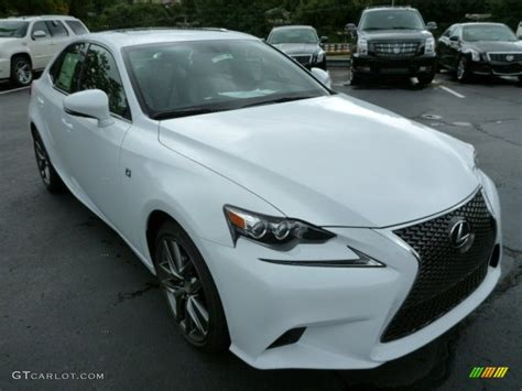 white lexus 2014 2014 ultra white lexus is 250 f sport awd 84766843 photo