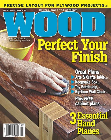 wood issue  november  woodworking plan  wood