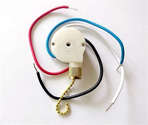 4 wire ceiling fan pull switch zing ear ceiling fan pull chain 3 speed control switch ze