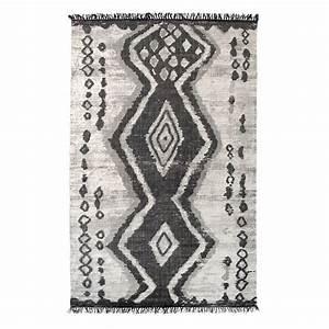tapis ethnique coton boucherouite hk living 120 x 180 cm With tapis coton ethnique