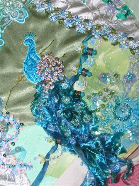 victorian peacock crazy quilt favequiltscom