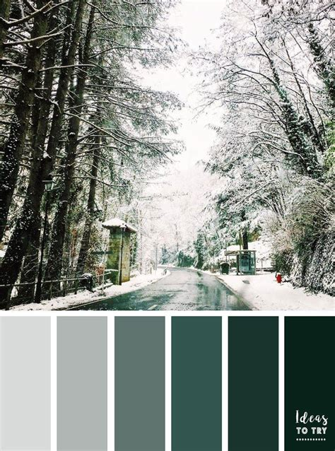 winter green color best 25 winter color palettes ideas on winter