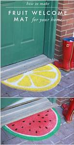 16 diy welcome mats that will add character to your front