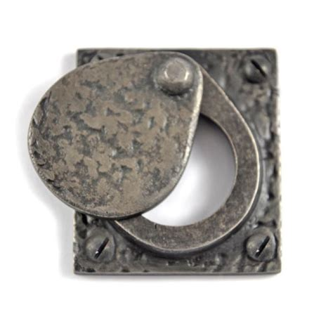 louis fraser  cylinder latch cover pewter finish