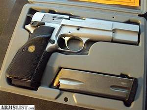 ARMSLIST - For Sale/Trade: Silver Chrome Browning Hi-Power ...