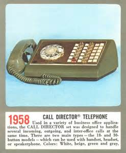 Call Director Telephone 1958