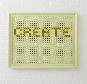 create a better life allpeoplequiltcom With large pegboard letters